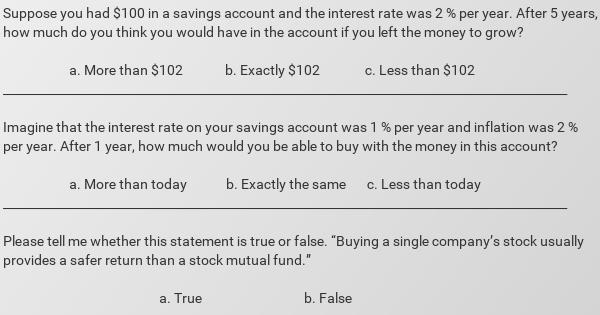 financial question